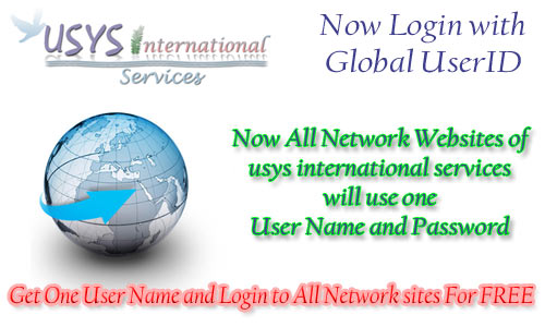 Global Login,Auth Login,Usys Id, Global UserName